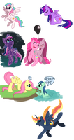WIP MLP Ideas by C-Puff