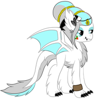 Commission: Holly Crest the Longlu by SilverRomance