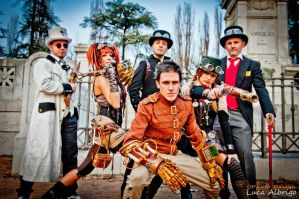 Steampunk Crew by boss8080