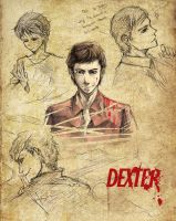 DEXTER character sketches by koulin