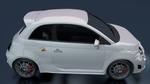 Fiat 500 White 5 by red33556