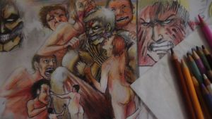 Attack on Titan .This is HELL!! by Kworu