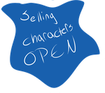 Selling characters OPEN!!! by Girryy