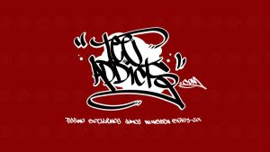 Tee-Addicts Graff  Wallpaper by motion-attack
