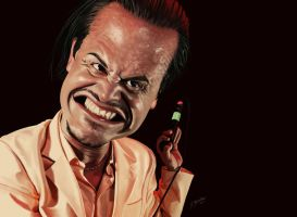 Mike Patton Caricature 2 by JESUSMORALES