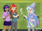 Equestria City: Advanced Magic Rivals by teammagix