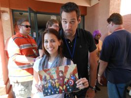 Sac Anime 2012: Laura Bailey and Travis Willingham by Hellsender