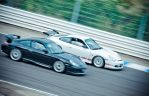 Duel de Porsche by RemiGardet