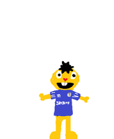 Persimoon in a Chelsea Shirt by HTF-432