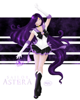 Sailor Astera Painting by dubird