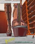 Giantess Erodreams2 - Preview - Small New World by ilayhu2