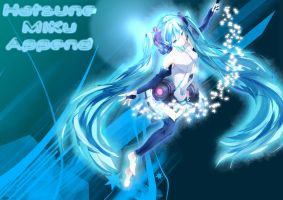 Hatsune Miku Append Wallpaper by XIAN9142