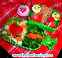 Chickie bento lunch by The-Cute-Storm