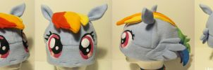 Rainbow Dash Hat (2013) by Like-a-Surr