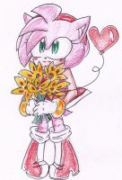 Flowers and Balloon by ChocolateandCookies