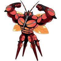 Buzzwole is spotted showing off its body in DB!