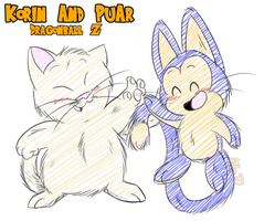 Korin and Pu'ar by affy-hedgefoxbat