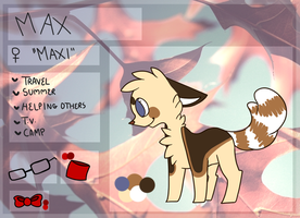 Max Reference Sheet 2O14 by winterei