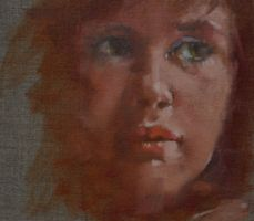 study of face in oils by derekjones