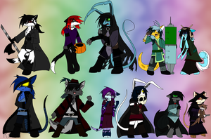 .::The Generations of Chibi::. by Kalza