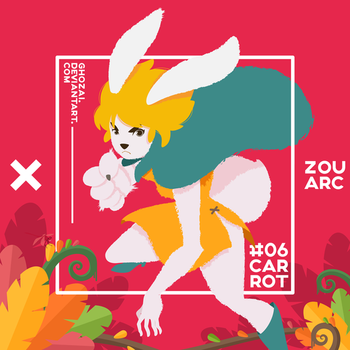 Carrot Mink Tribe by ghozai