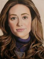 Emmy Rossum Portrait by CuriousGeorge43545