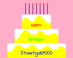 Happy B-day (Streetgals9000) by NicLove