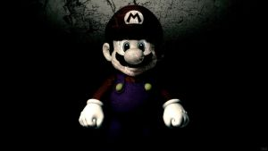 Mario in the Dark by NEO-Musume