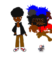 Dat Hooman Afro by CreativeArtist-Kenta