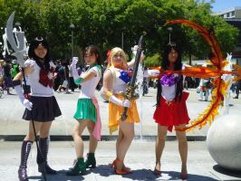 Sailor Scouts by artemis6
