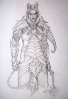 Valen Armour Design by Mistresselysia
