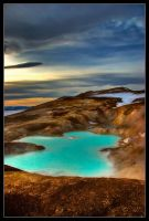 Myvatn Hotspring in HDR by Wivelrod