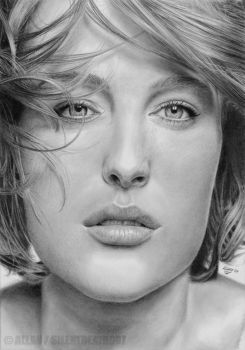 :GILLIAN ANDERSON: by Angelstorm-82