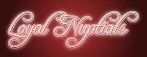 Loyal Nuptials logo by FCU777