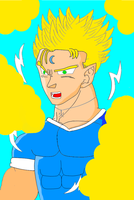 Ryuji ssj2 eclips (finished) by Trunksl