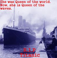 Remembering the Titanic by Tesla51