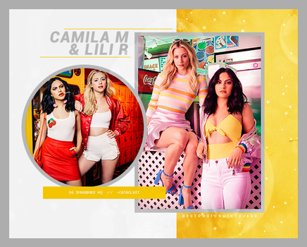 Photopack 25463 - Camila Mendes y Lili Reinhart by xbestphotopackseverr