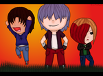 The Gang in Chibi Form by BrimThePyscho