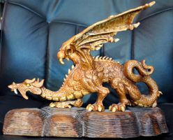 My Dragon { Side View } by Arkinman