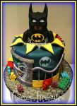 Lego Batman Cake With Edible Lego! by gertygetsgangster