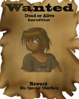 Wanted Dead or Alive by kuroiStar