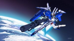 Ex-S Gundam Space version by Jaychan1