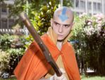 Avatar Aang  - The last airbender by altugisler