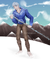 Jack Frost by deathgenebunny
