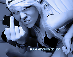 Blue Emotion - Action by AndieStanford
