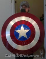 Captain America Shield by Smitty-Tut