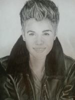 Justin Bieber Drawing 2013 by keishacollins