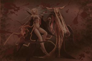 FF Sisters of Chaos Wallpaper by ShinraWallpapers