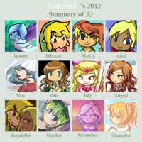 2012 Art Summary by Linkerbell