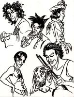 Alan Sketches by MWaters